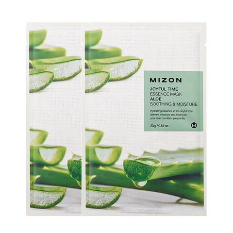 MIZON  Маска с экстрактом алоэ   joyful time essence mask aloe 23g.