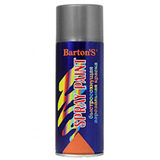 Краска аэрозольная Barton's Spray Paint СЕРАЯ глянец RAL7046 520 мл (16шт/кор)