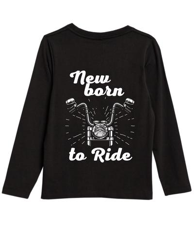 Мотокид, Лонгслив NewBorn to Ride
