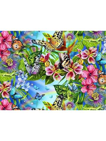 Бабочки  - раскраски по номерам на картоне