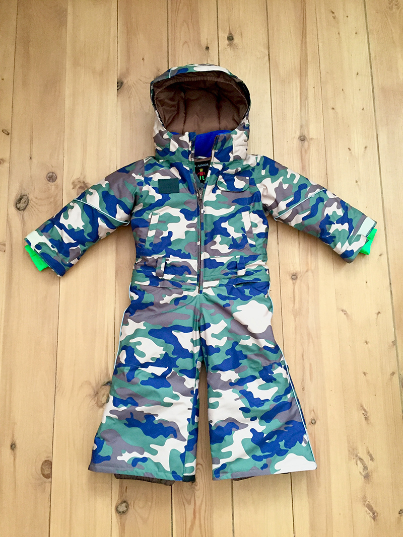 комбинезон детский зимний SASHA JUNIOR милитари2