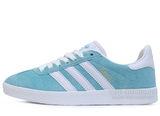 Кроссовки Женские Adidas Gazelle Light Blue White