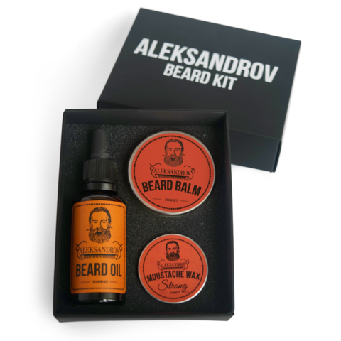 Набор для бороды Aleksandrov Beard Kit №03