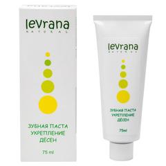 Зубная паста Укрепление десен, 75ml TМ Levrana