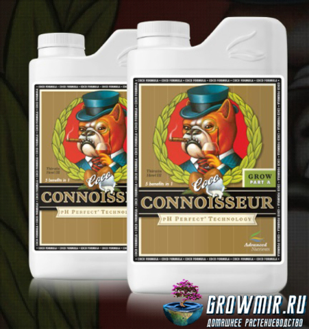 Advanced Nutrients pH Perfect Connoisseur Coco Grow Part A & B (0,5л)