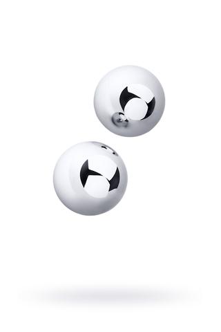Вагинальные шарики Metal by TOYFA, металл, серебристые, Ø 3 см