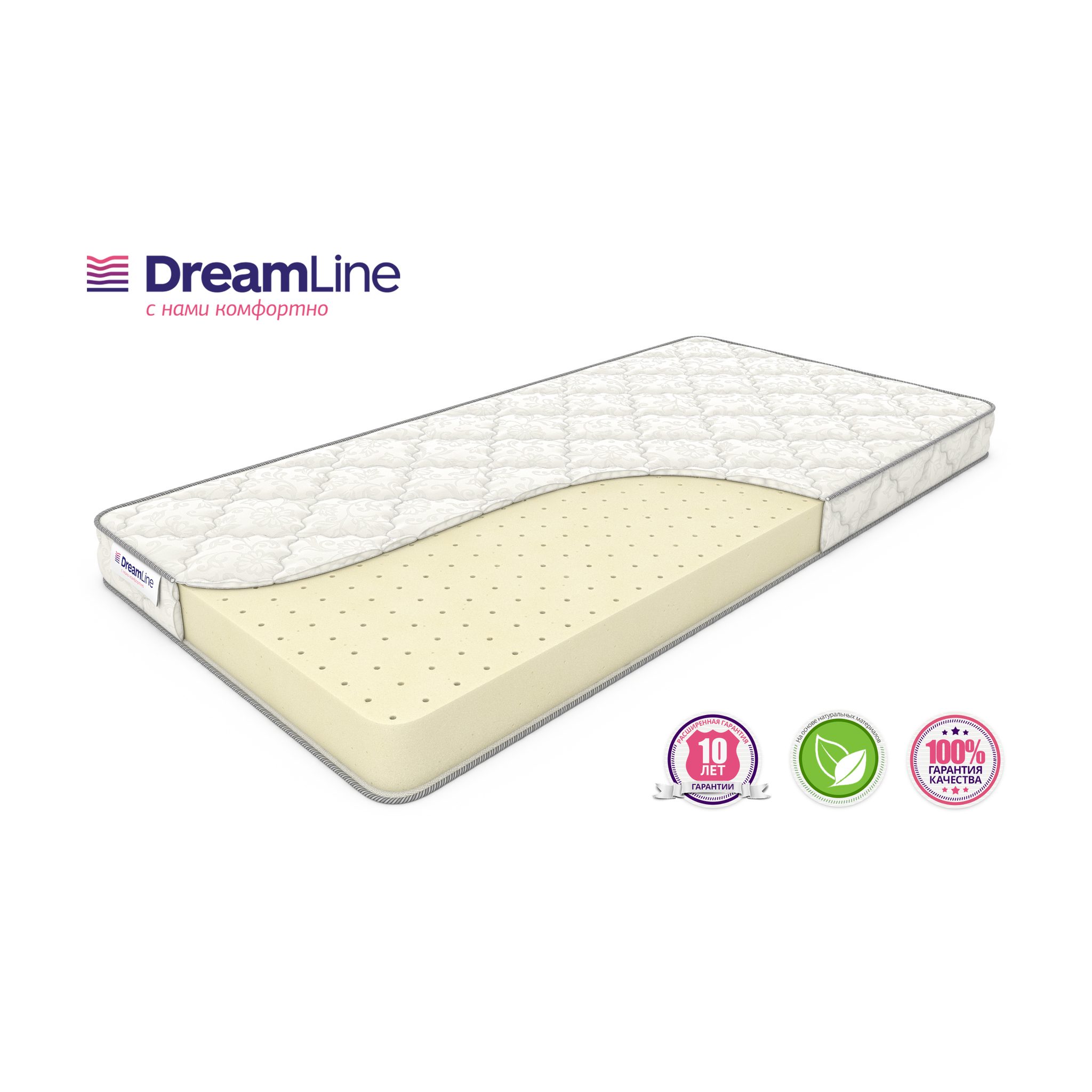 Матрас DreamLine Soft Slim (80x200) фото