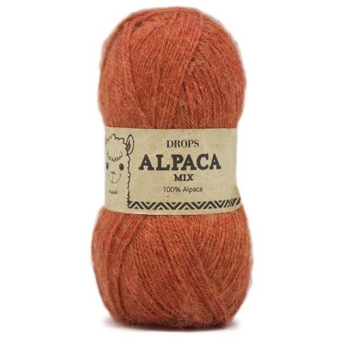 Пряжа Drops Alpaca 2925 терракот