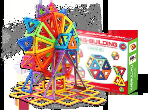 Подарки для детей в детском саду Детский магнитный конструктор Mag Building (20 деталей) c55e88be6cf15f0227725d0058b374ff.png