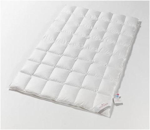 Одеяло пуховое легкое 200х220 Kauffmann Naturpur
