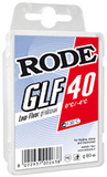 Парафин лыжный низкофтористый Rode GLF-40 красный (0/-4) 60гр