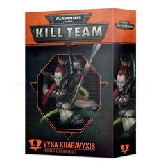 Kill Team: Vysa Kharavyxis Commander set