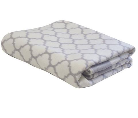 Одеяло байковое Премиум Четырёхлистник