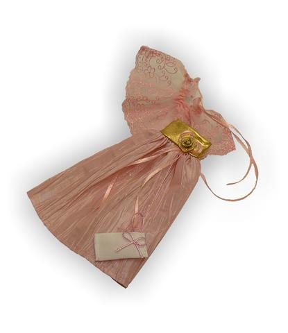 Платье из жатой парчи - Детали. Одежда для кукол, пупсов и мягких игрушек.