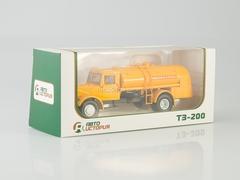 MAZ-200 tanker fueller TZ-200 Aeroflot 1:43 AutoHistory