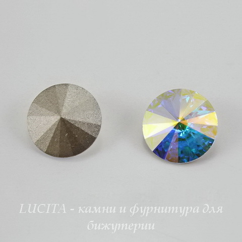 1122 Rivoli Ювелирные стразы Сваровски Crystal AB (14 мм) (Картинка)