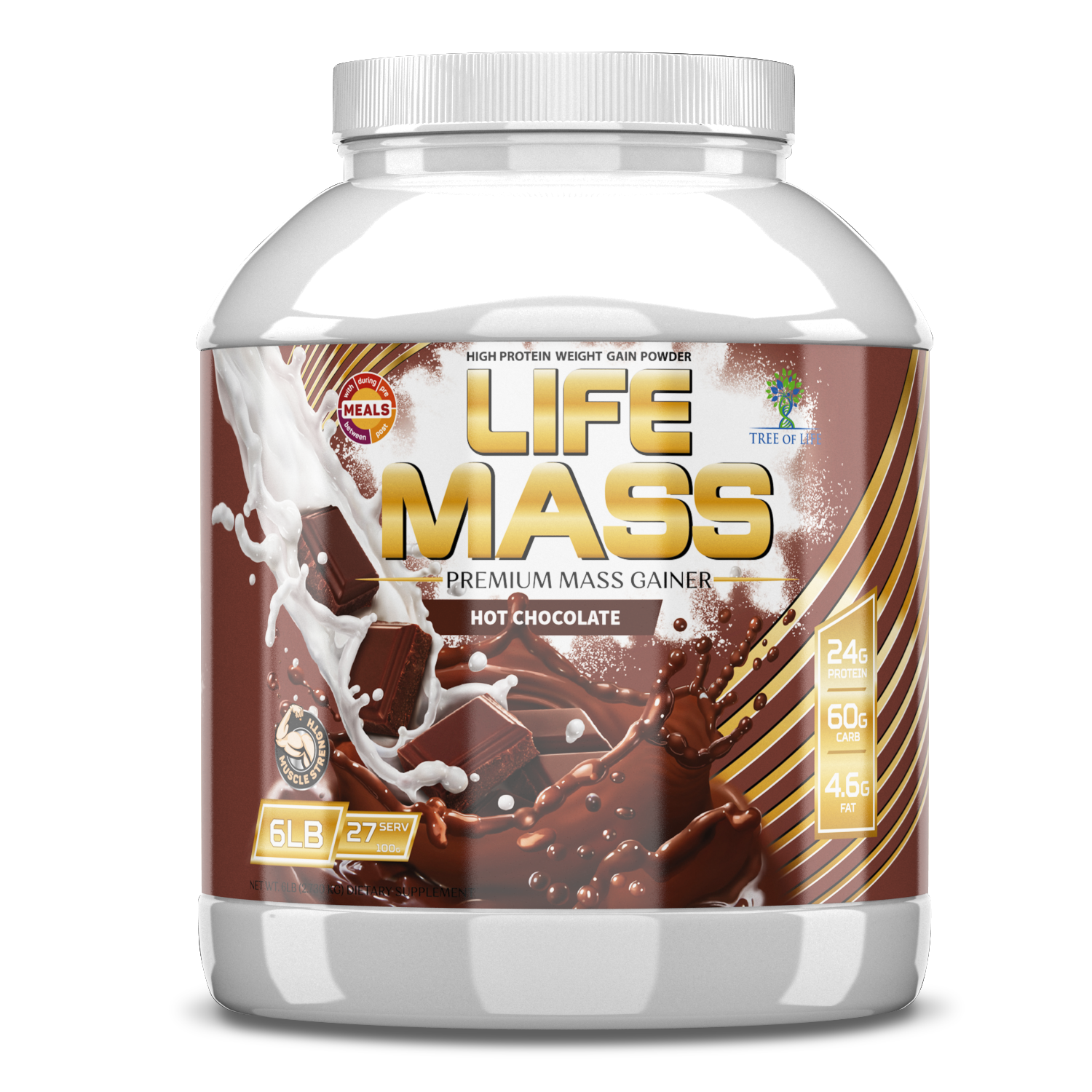 LIFE MASS 6lb Hot chocolate