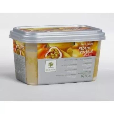 Пюре фруктовое Пабана  (банан, маракуйя, лимон, манго) RAVIFRUIT