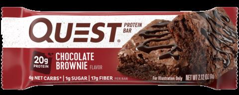 Протеиновые батончики Quest Bar Chocolate Brownie (Шоколадный брауни), 1 шт