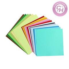 Картон кардсток цветной текстурированный, 30,5*30,5 см, 216-220 гр/м, 1 лист.