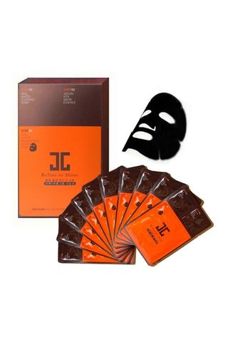 Тканевые маски JayJun Real Water Brightening Black Mask 10шт