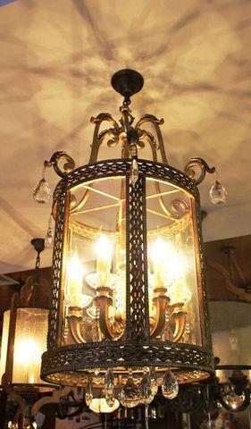 vintage chandelier 40-07  ( by Funky Vintage )