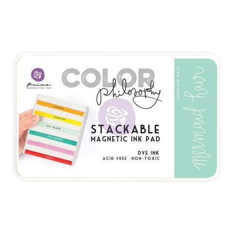 Чернильная подушечка Prima Marketing Color Philosophy Dye Ink Pad -  цвет Mermaid Hair