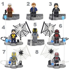 Minifigures Ant Man Blocks Building Series 01
