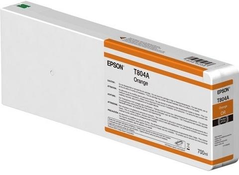 Картридж T804A00 для Epson SC-P6000/7000/8000/9000 XXL Orange UltraChrome HDX/HD, 700ml (C13T804A00)
