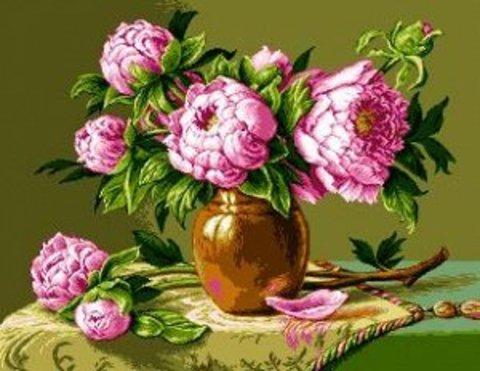 G-776 Розовые Пионы
