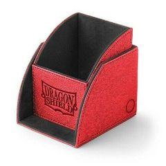 Dragon Shield - Красно-чёрная коробочка Nest (100 карт)