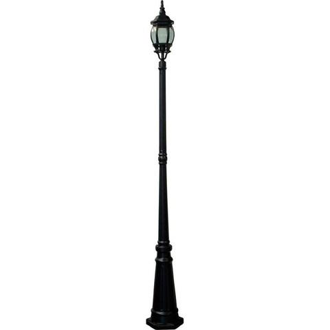 Cветильник садово-парковый, 100W 230V E27 черный, 8111 (Feron)