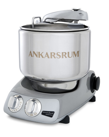 Тестомес комбайн Ankarsrum AKM6230JS Assistent серебристо-серый (базовый)