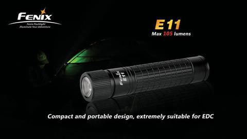 Фонарь Fenix E11 (Cree XP-E, 105 лм, 1xAA)