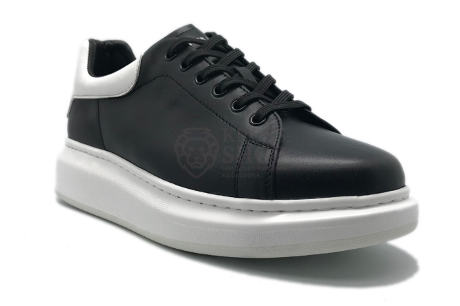 Alexander McQueen Men's Black/White/White