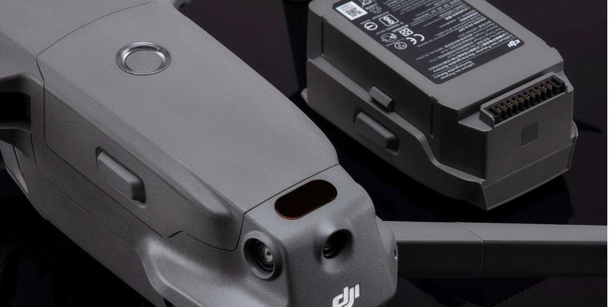 Аккумулятор DJI Mavic 2 Intelligent Flight Battery (Part2) с дроном