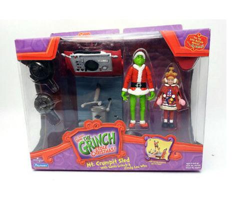 Гринч - похититель Рождества набор фигурок Гринч и Синди Лу