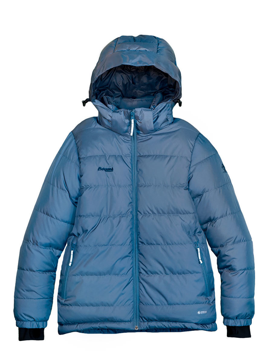 Bergans пуховик 7632 Rena Down Youth Jacket Steel Blue