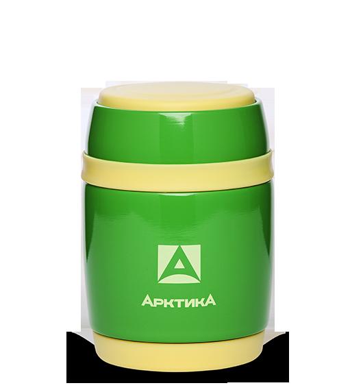 Термос для еды Арктика (0,38 литра), зелёный