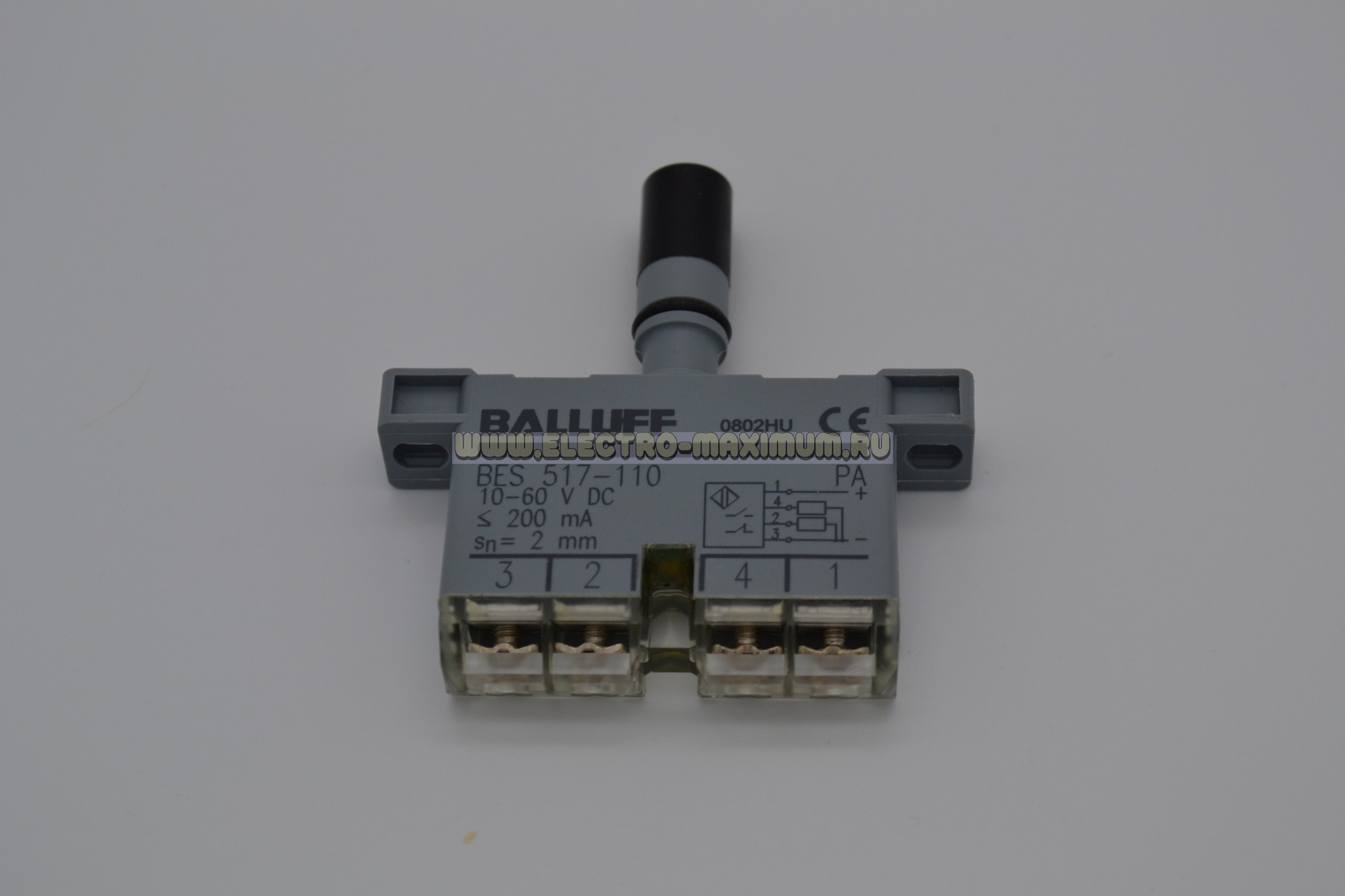 Индуктивный датчик Balluff BES 517-110-RK