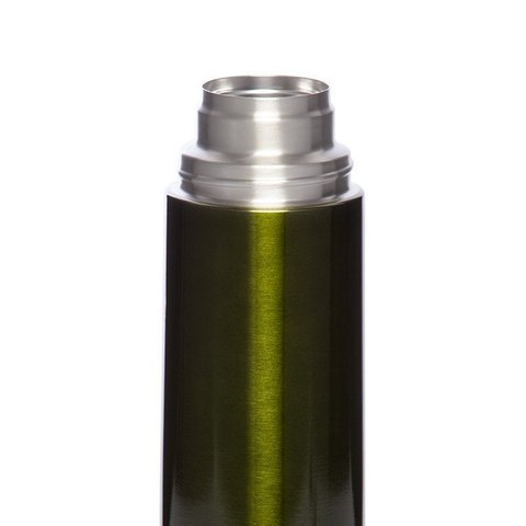 Термос Арктика (0,75 литра) с узким горлом классический, болотный
