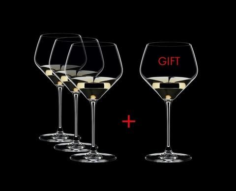 Набор из 4-х бокалов для вина Oaked Chardonnay 670 мл.артикул 4411/97 Серия Extreme