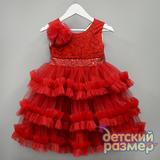 Платье (кружево, бантики)