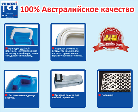 Изотермический контейнер Techniice Компакт 12L