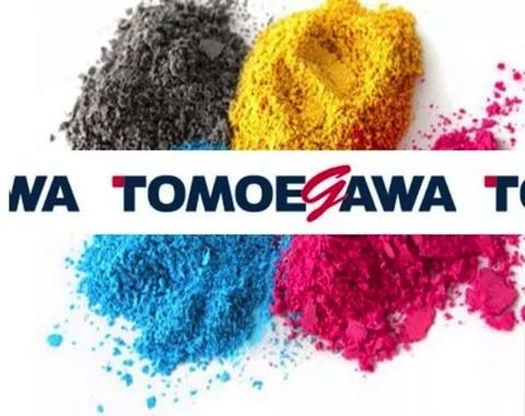 Комплект глянцевого тонера Tomoegawa для принтеров OKI. CMYK 4x160 гр