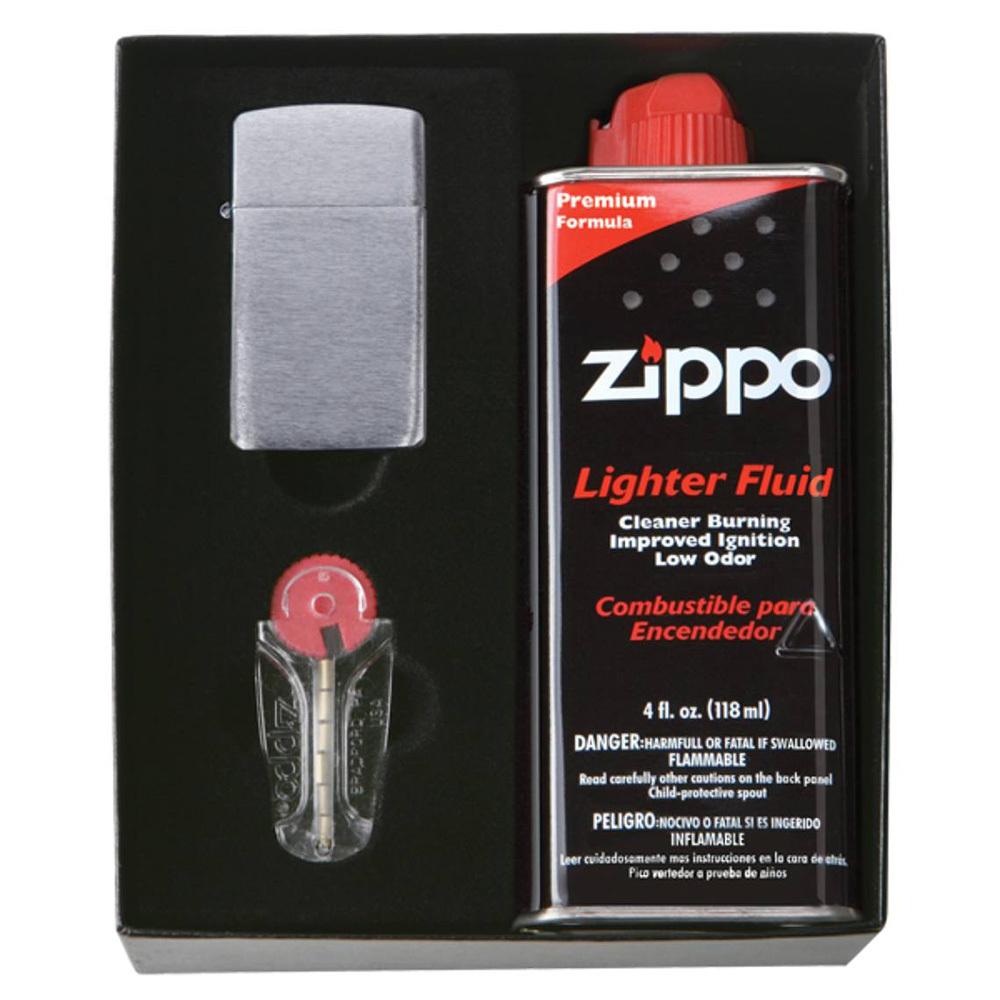 Подарочный набор для узкой зажигалки Zippo 50S