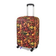 чехол для чемодана экстрапрочный «жар-птица»