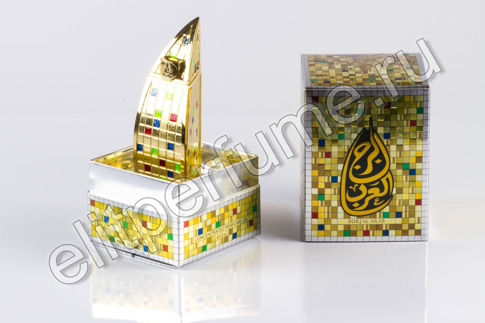 Burj Al Arab Бурж Аль Араб 12 мл Унисекс арабские масляные духи от Халис Khalis Perfumes