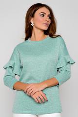 Отличная, уютная блузка для романтичной особы.