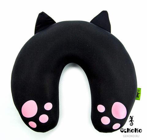 Подушка-подголовник «Уголек», черная 4